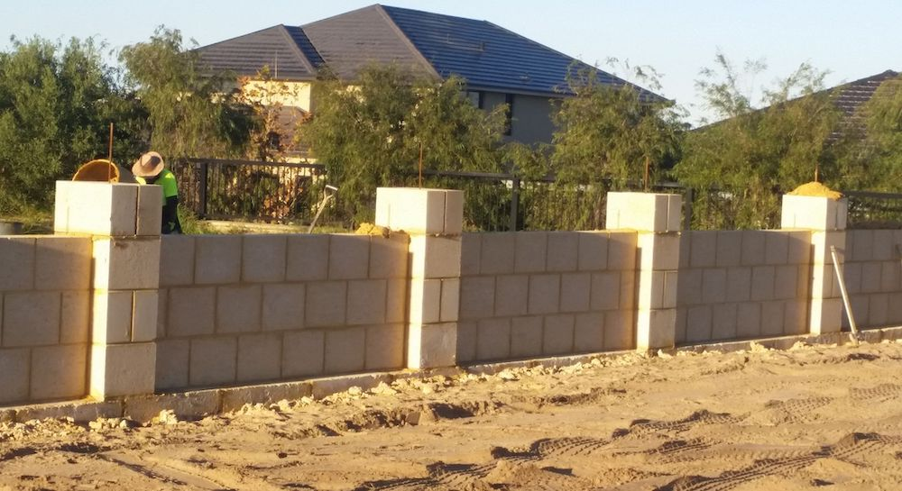Building Retaining Wall
